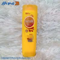 شامپو نرم کننده سان سیلک مدل Nourishing Soft And Smooth زرد - زینو بازار ZinoBazar