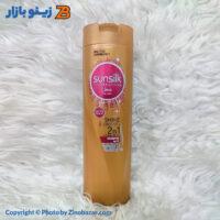شامپو نرم کننده مو معمولی سان سیلک مدل Shine & Strength نارنجی - زینو بازار ZinoBazar