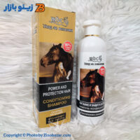 zinobazar شامپو ضد ریزش و رشد مجدد موی دم اسب 500 میلی لیتر ام بی سی