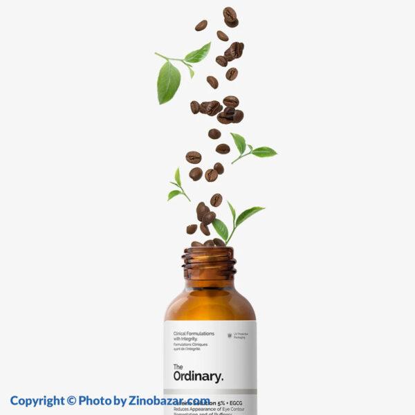 سرم کافئین ۵% روشن کننده و ضد تیرگی و پف دور چشم اوردینری - زینو بازار ZinoBazar