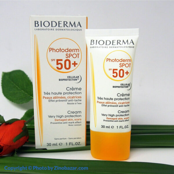 کرم ضد آفتاب فتودرم اسپات SPF50 بایودرما - زینو بازار ZinoBazar