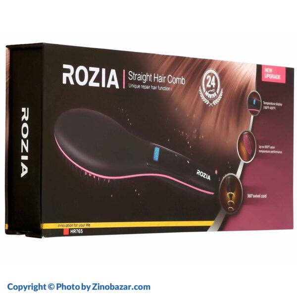 برس حرارتی دیجیتالی مدل HR765 روزیا - زینو بازار ZinoBazar