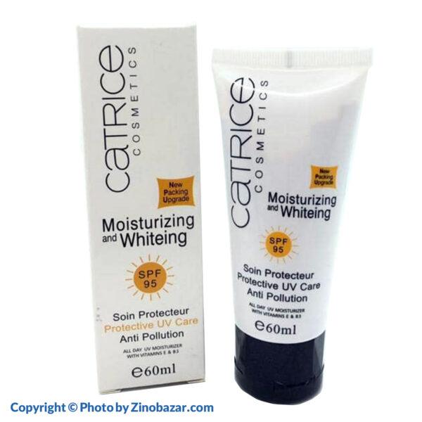 ضد آفتاب SPF95 مرطوب کننده و سفید کننده 60 میلی لیتر کاتریس - زینو بازار ZinoBazar