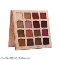 پالت سایه چشم 16 رنگ شیمر فیس سکرت - زینو بازار ZinoBazar