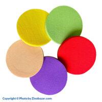 پد آرایش دایره ای بسته 12 عددی - زینو بازار ZinoBazar